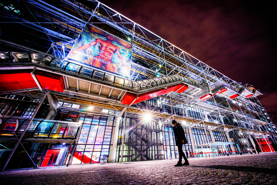 POMPIDOU PARIS 12mm