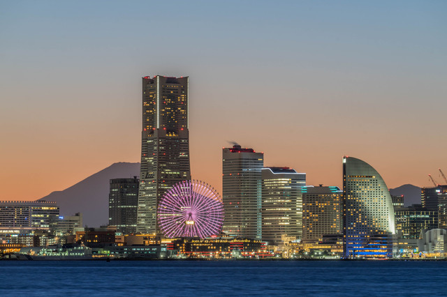 yokohama twilight