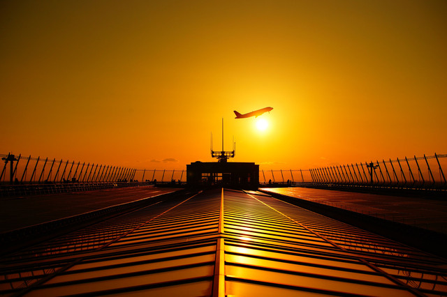 Sunset Airport take-off!! vol.5
