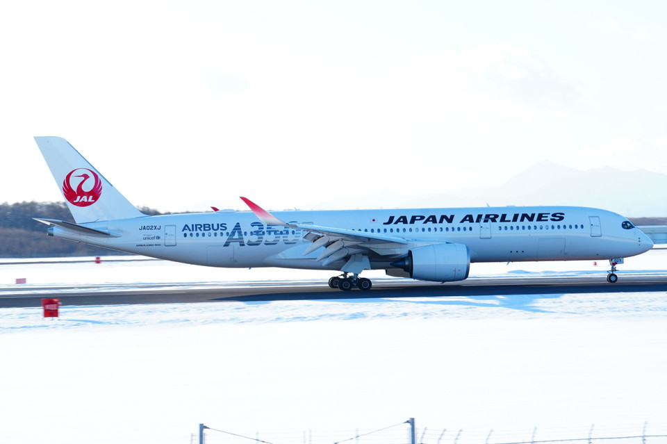 Airbus A350 collection@Japan Airlines