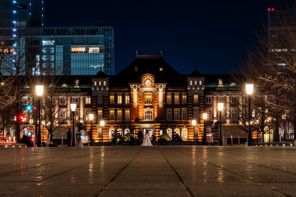 Tokyo Station and Wedding