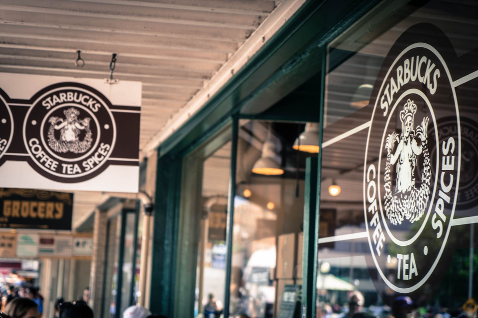 The 1st Starbucks in Seattle