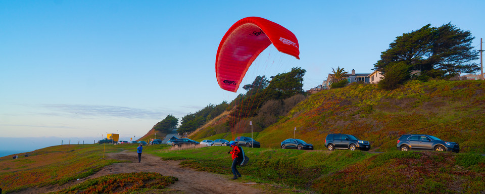 Paragliding New Year 2021