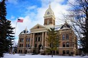 Ingham County Courthouse at Michigan