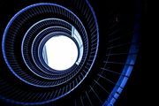 Spiral Staircase #8 -stairwell-