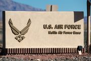 II'll be back Nellis AFB & Rainbow canyon