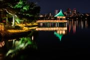 Ohori Park Night View