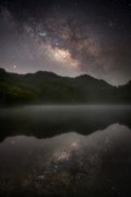 milkyway & reflection