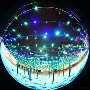 illumination with fisheye