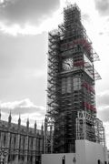 Big Ben under constrauction