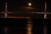 Moonrise@Yokohama Bay Bridge