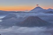 Mt.Bromo in sunrise