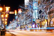 sparkling lights of Sapporo♪