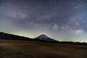 Mt. Fuji×Milky Way× shooting star