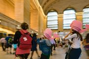 at the Grand central station in NYC