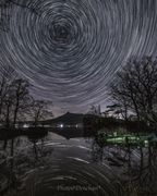 Star Trail Refrection