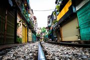 Railroad in Ha Noi